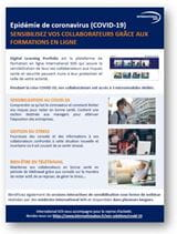 COVID19 Sensibilisez vos collaborateurs grace aux formations en ligne